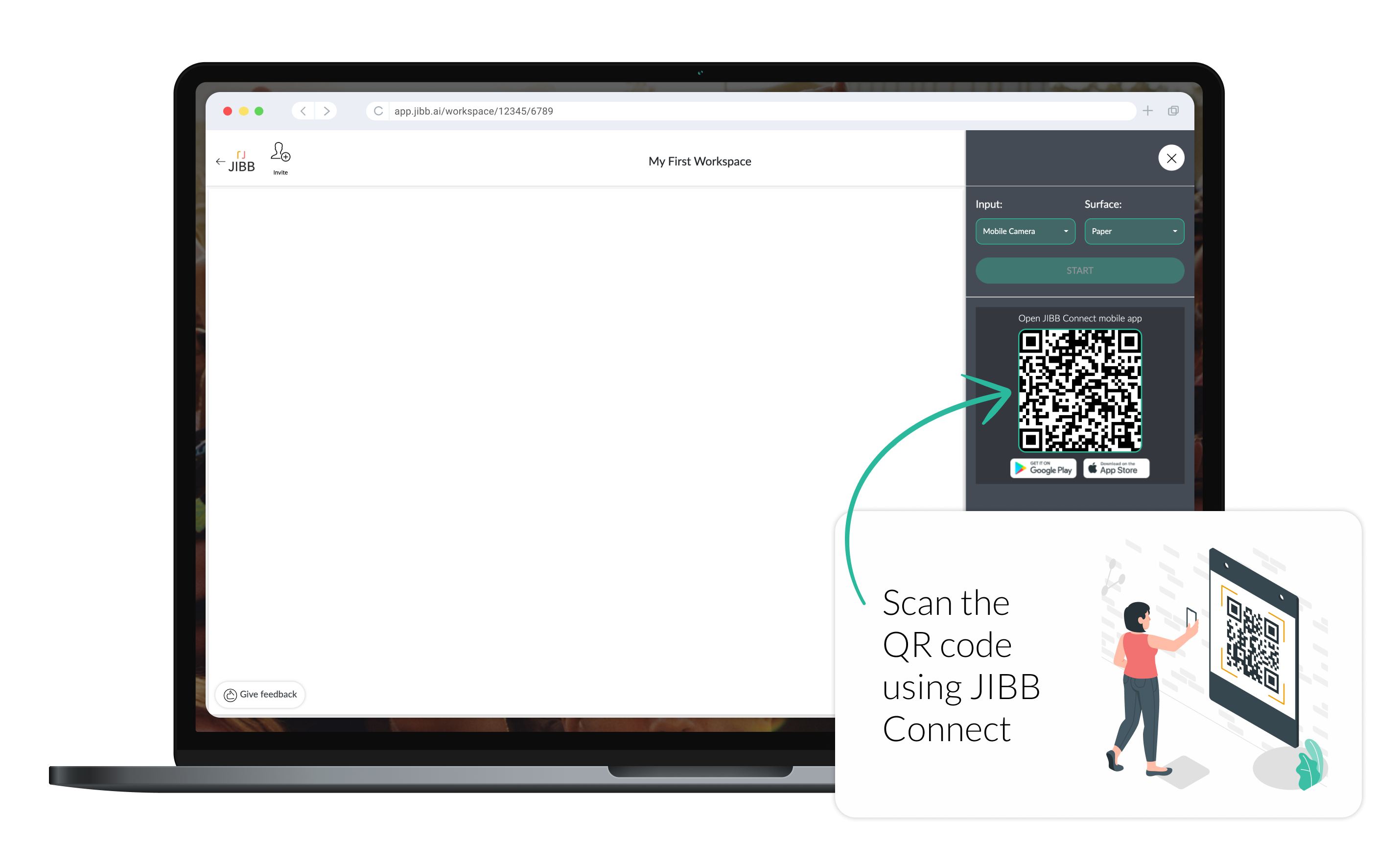 Scanning the QR Code Instructions