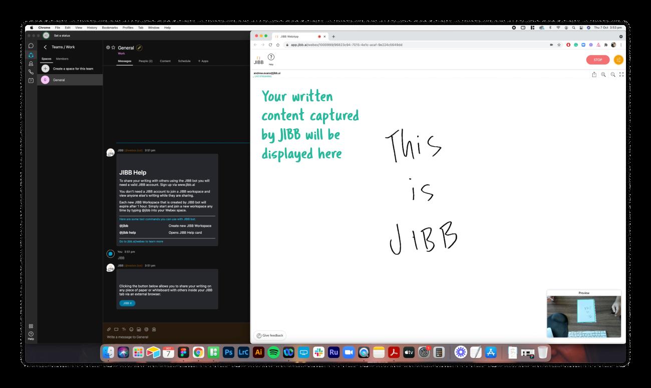Webex JIBB Bot Instructions 8
